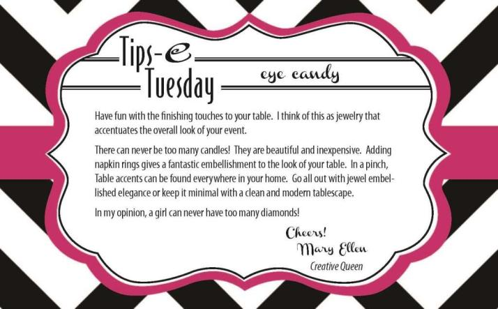 Tips-e Tuesday Eye Candy 1