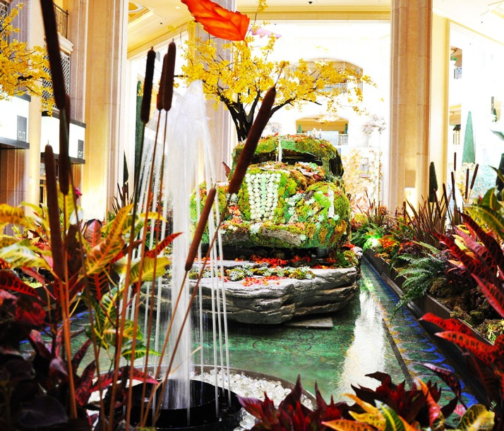 autumn at the Palazzo Hotel Las Vegas