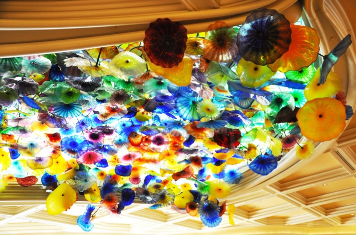 Chihuly glass at the Bellagio