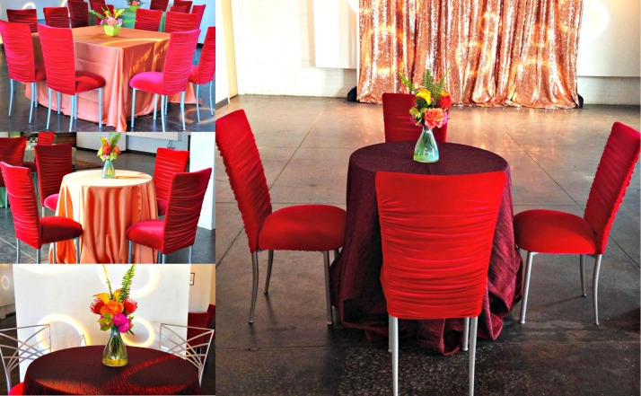red carpet tablescapes